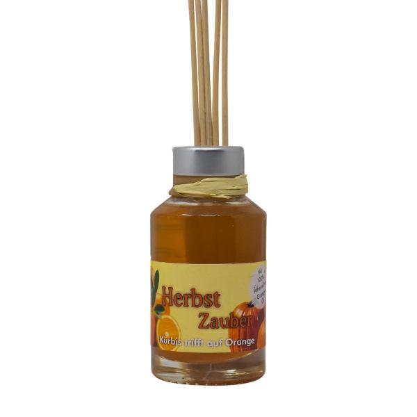 Herbst Zauber - Kürbis trifft auf Orange raumduft-flasche-100ml