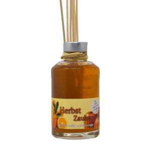 Herbst Zauber - Kürbis trifft auf Orange raumduft-flasche-200ml